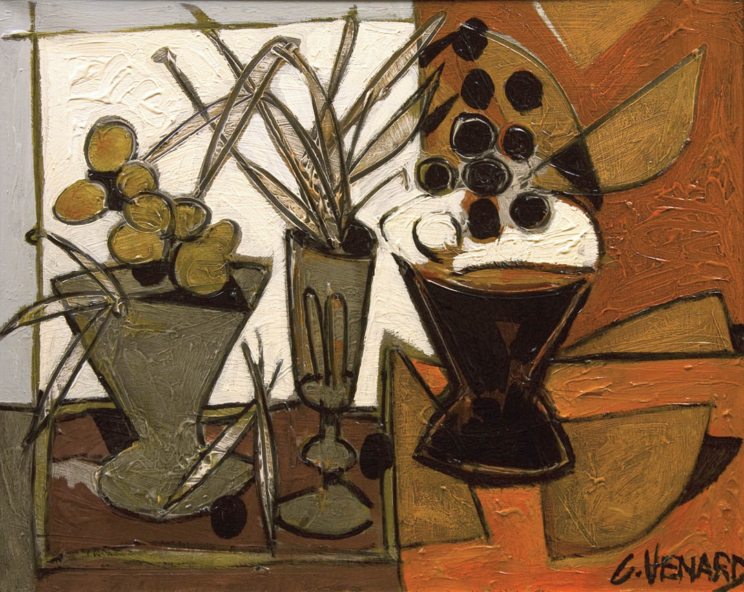 Nature morte aux deux coupes verres (Still-life with Two Glasses)