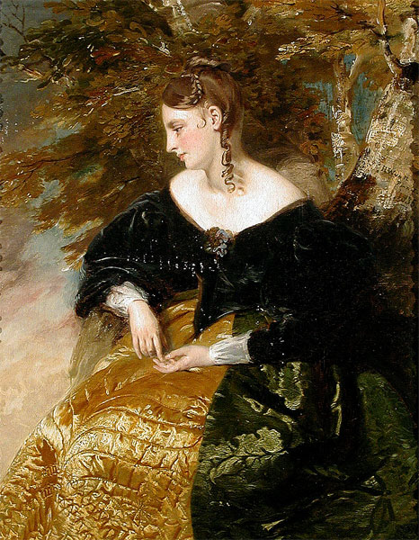 The Fair Student, 1835