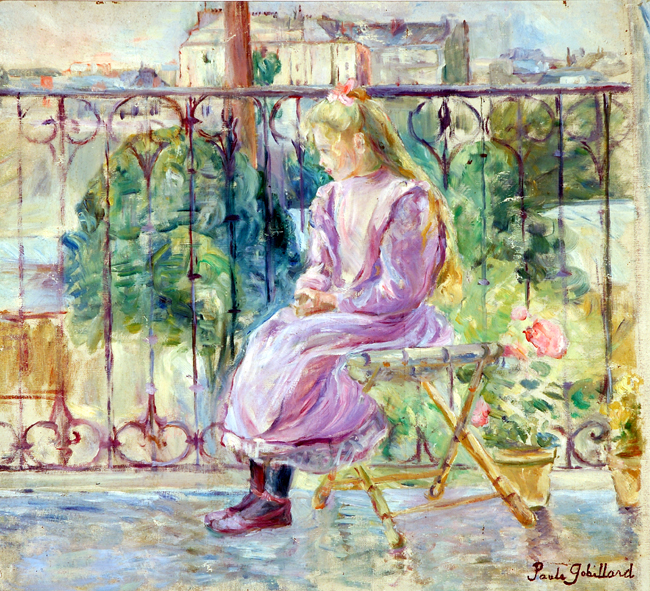 On the Terrace, ca. 1900